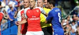 Arsenal's Gabriel gets one-match ban, fine after clash with Diego Costa