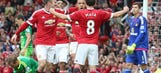 Manchester United go top with comfy win against Sunderland