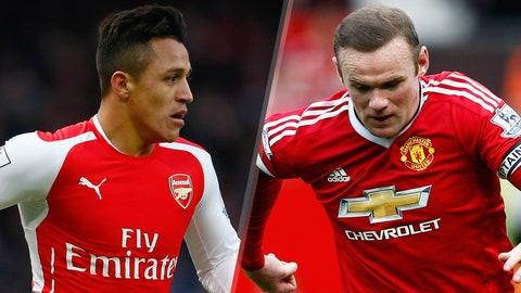Premier League: Arsenal vs. Manchester United (live, Sunday, 11 a.m. ET)