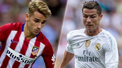 La Liga: Atletico Madrid vs. Real Madrid (live, Sunday, 2:30 p.m. ET)