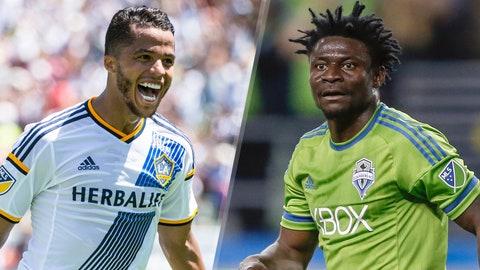 Major League Soccer: Los Angeles Galaxy vs. Seattle Sounders (live, Sunday, FS1, FOX Sports Go, 9:30 p.m. ET)