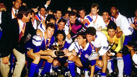 July 5, 1991: USA defeat Mexico in Gold Cup semifinal