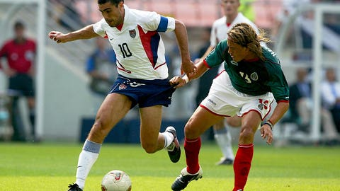 June 17, 2002: USA stun Mexico, advance to World Cup quarterfinals