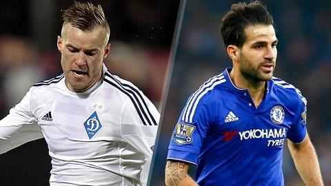 Dynamo Kiev vs. Chelsea (Tuesday, 2:30 P.M. ET, FOXSoccer2GO/DirecTV)