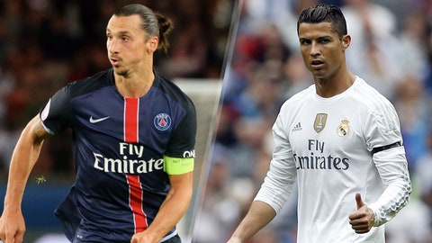 PSG vs. Real Madrid (Wednesday, 2:30 P.M. ET, FS Plus)