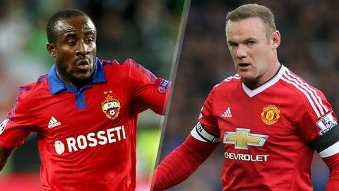 CSKA Moscow vs. Manchester United (Wednesday, 2 P.M. ET, FS2)