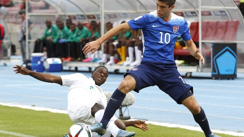 USA vs. Chile (U-17 World Cup, Friday 7 p.m. ET, FS2)