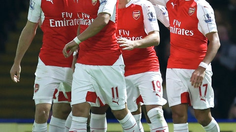 Arsenal vs. Everton (Saturday, 12:30 p.m. ET)