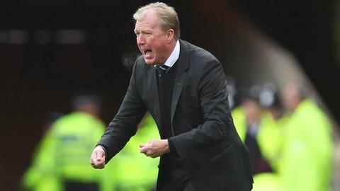 Is Steve McClaren next to walk the plank?