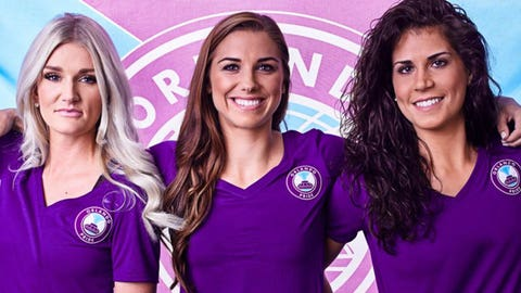 November: Alex Morgan makes a move