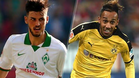 Bundesliga: Werder Bremen vs. Borussia Dortmund (live, Sunday, 10:30 EST, FS2, FOX Sports Go)
