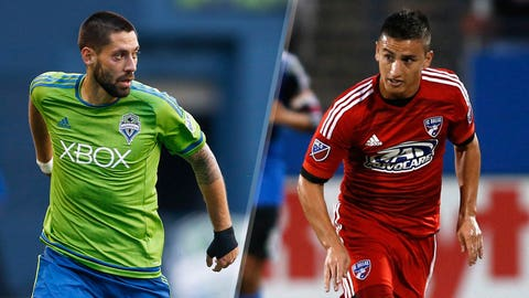 Major League Soccer: Seattle Sounders vs. FC Dallas (live, 9:30 PM EST, FS1, FOX Sports GO)