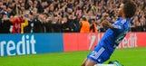 Willian saves Chelsea further turmoil vs. Dynamo Kiev
