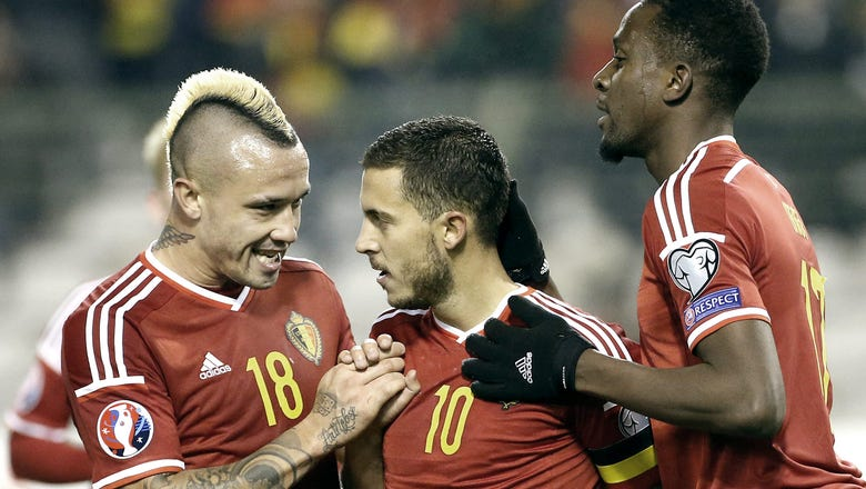 Belgium moves to No. 1 in FIFA rankings for first time