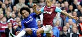 FA fines Chelsea, West Ham for failing to control players in last month's clash