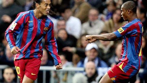 Nov. 19, 2005 — Real Madrid 0-3 Barcelona | Ronaldinho's standing ovation