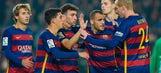 Sandro hits hat trick as Barcelona rout Villanovense