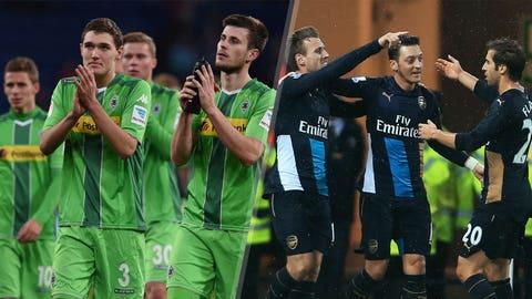 Borussia Mönchengladbach, Arsenal miss the cut