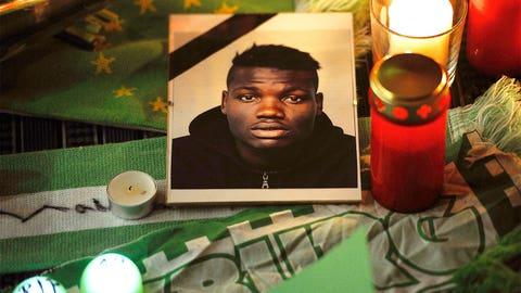 Jan. 10 -- Junior Malanda killed in auto crash