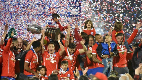 July 4 -- Chile beat Messi, Argentina to win Copa America