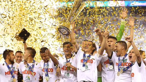 July 26 -- Mexico win the Gold Cup for the tenth time …