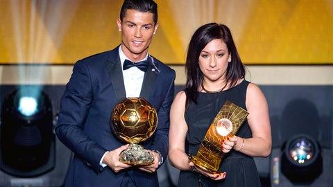 Jan. 12 -- Cristiano Ronaldo, Nadine Kessler take top honors