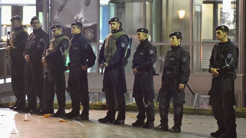 Nov. 17 -- Germany-Holland game called off after 'credible' terror threat