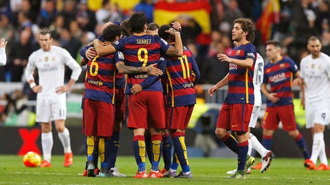 Nov. 21 -- Barcelona blow by Real Madrid