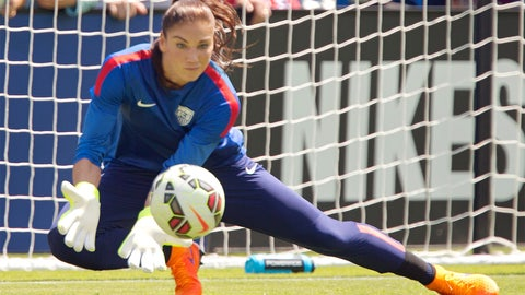 Jan. 21 -- US Soccer suspends Hope Solo for 30 days