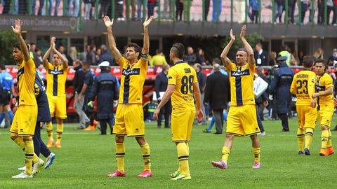 March 18 -- Parma declared bankrupt