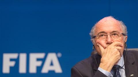 June 2 -- Blatter suddenly resigns amid FIFA scandal