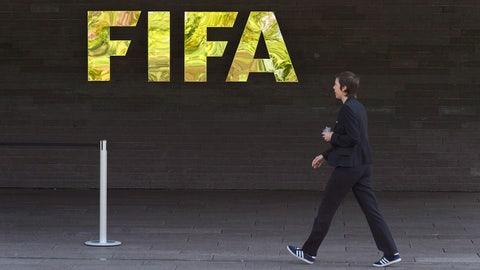 May 27 -- FIFA implodes