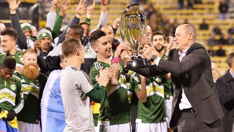 Dec. 6 -- Portland stop Columbus to win MLS Cup