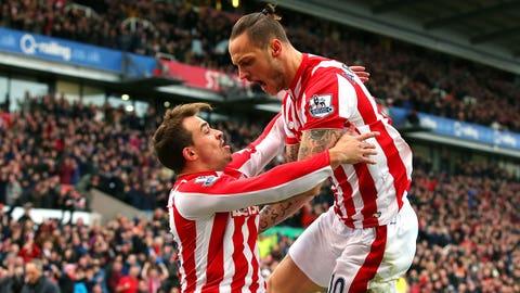 Stoke gamble big and wins
