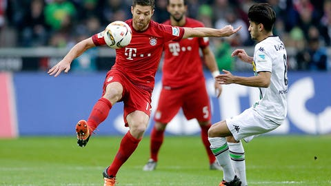How important is Xabi Alonso for Bayern?
