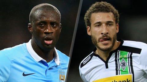 Manchester City v Moenchengladbach (live, Tuesday, FS2, FOX Sports Go 2 p.m. ET)