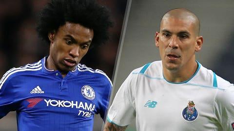 Chelsea v Porto (live, Wednesday, FOX Sports Regional, FOX Soccer2Go, 2 p.m. ET)