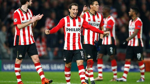 PSV Eindhoven (Runners-up, Group B)