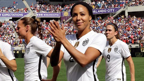 Is there any room for Sydney Leroux or Amy Rodriguez?