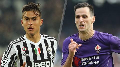 Serie A: Juventus vs. Fiorentina (live, Sunday, 12:30 p.m. ET)