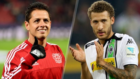 Bundesliga: Bayer Leverkusen vs. Borussia Mönchengladbach (live, Saturday, 12:30 pm ET, FS2, FOX Sports Go)