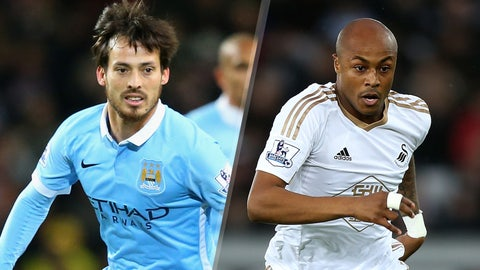 Premier League: Manchester City vs. Swansea City (live, Saturday, 10 a.m. ET)