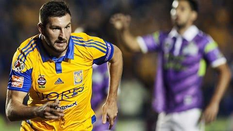 Tigres UANL forward André-Pierre Gignac