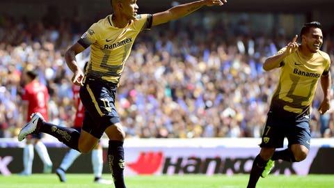 Pumas UNAM winger Fidel Martinez
