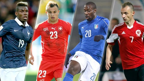 GROUP A: France, Romania, Albania, Switzerland