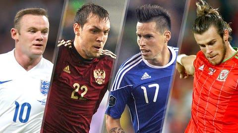 GROUP B: England, Russia, Wales, Slovakia