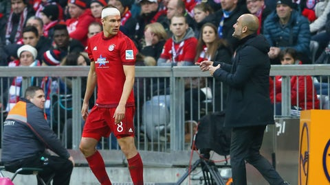 Bayern and injury issues
