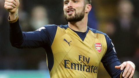 Giroud coming good for Arsenal