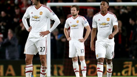 Manchester United in crisis