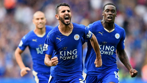 Leicester's improbable rise to the top